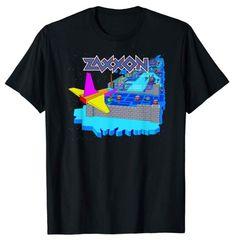 Zaxxon Game Screen T-shirt Choice Of Games, 80s Video Games, 80s Fashion, Mens Tops, T Shirt, Supreme T Shirt, Tee Shirt, Tee