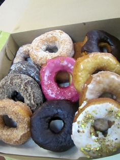 The Holy Donut, Portland, Maine    Go to a fancy doughnut place and get the nicest, sexiest doughnut they have and then take it all around town and take pictures with it in different touristy places and then hold a little funeral for it and give it a name