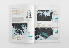 Knight Frank - Global Development Report on Behance