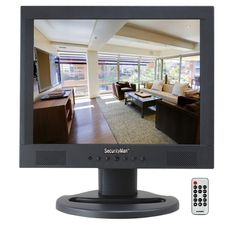 SecurityMan Professional 15 in. LCD Cctv Monitor