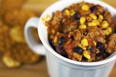 20-Minute Turkey Chili | 21 Easy One-Pot Dinners To Make When You Don't Want To Do Dishes