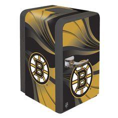 Boston Bruins Portable Party Hot/Cold Fridge