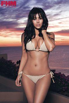 Kim Kardashian bikini photo shoot for FHM Bikini Pics 6229b6998