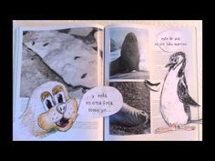 Marosa la foca curiosa y su amigo, el pingüino Borravino nos cuentan sobre la vida en la Antártida, a través de un cartoon realizado como práctica para el MOOC ibertic, Artes y Tecnologías para educar.