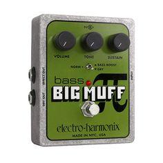Electro-harmonix Bass Big Muff Pi Pedal
