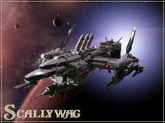 Scallywag: A LEGO® creation by Tim C : MOCpages.com