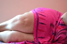 A friend, a woman, a pink dress and chut....