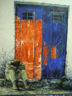 Arte urbano, en Tirana, Albania