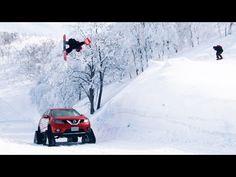吹雪の雪山にピザ? 神技デリバリー THE XTREME DELIVERY - YouTube