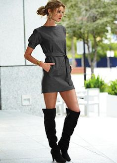 Another ordered for Christmas! Can't wait to get this dress and boots!  Love.