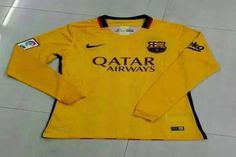 JERSEY BARCELONA AWAY OFFICIAL LONG SLEEVE