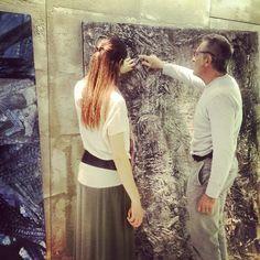 Allestimento mostra Mattia #Luparia per #FondazioneAriel. Da non perdere! (17/06 ##STRAFhotel, Milano)
