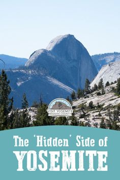 For those seeking the natural beauty of Yosemite National Park but don't want to deal with the crowds, these 5 Yosemite attractions give you a bit of breathing room! The list includes Sentinel Dome, Hetch Hetchy Waterfalls, Olmstead Point, and more! Vacation Trips, Vacation Spots, Vacation Ideas, Vacations, Us National Parks, Yosemite National Park, Family Road Trips, Family Travel, California Travel