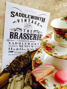 Set ideas for Brasserie teas