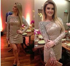 Mais Estilosa: 57 Modelos de Vestidos Curtos Lindos
