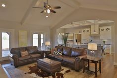Living Room Open Concept by Stonebridge Design + Build