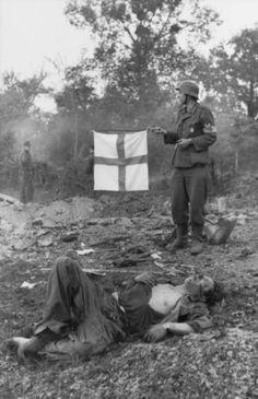 DRK et les personnels sanitaires de la Wehrmacht