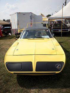 1970 plymouth superbird… yellow