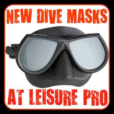 In addition to an already enormous selection of dive masks, Leisure Pro has a few new options from manufacturers like Mares and Cressi for you to check out! http://aquaviews.net/scuba-gear/dive-masks-leisure-pro/