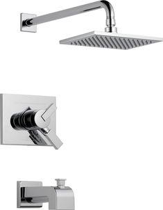 Vero Single-Handle Single-Function Bath/Shower Faucet in Chrome