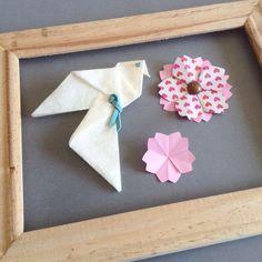 La petite colombe et les fleurs de cerisier par Une Respiration