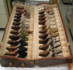 trunk of shoes