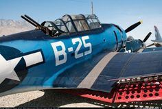 Ha, it says B-25, but I bet you're not fooled.
