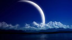 Fantasy Space Art- Blue Moon Beach Can't remember exactly where I...View Image