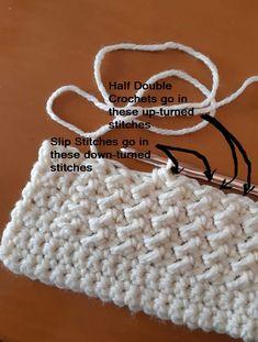 Crochet Cowl Free Pattern, Afghan Crochet Patterns, Crochet Stitches, Knitting Patterns, Crochet Hats, Crochet Afghans, Manta Crochet, Crochet Basics, Baby Blanket Crochet