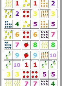 Plantilla para descargar e imprimir. Podemos utilizar el clásico juego de dominó para desarrollar la atención de los chicos, la lógica, para trabajar sobre matemáticas e, incluso, lengua. Con algo …