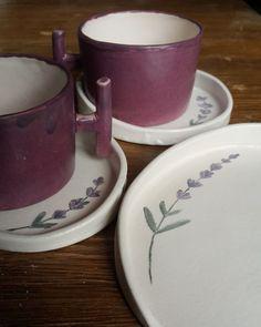 Lavantalı Çay Seti Set içerisinde bir adet çay fincanı, tabağı ve kurabiye tabağı bulunmaktadır.Çay.... 435792