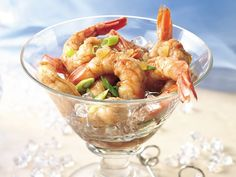 Gingered Shrimp. Have leftover shrimp? Add an Asian twist for a healthy snack or appetizer you won't be able to stop eating!