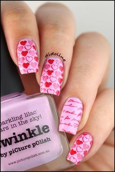 Top 17 Nail Designs For Valentine – New Famous Manicure Trend For Spring Fashion - Homemade Ideas (12)