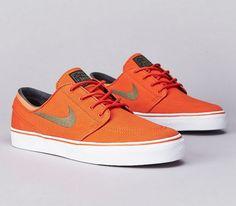 Nike SB Stefan Janoski Low – Urban Orange / Medium Olive – Black