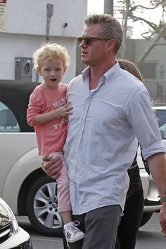Eric Dane and Billie Mark Sloan, Marley And Me, The Last Ship, Fathers Day Photo, Eric Dane, Medical Drama, Daddys Little Girls, Grey's Anatomy, American Actors