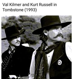 Tombstone 1993, Kurt Russell, Val Kilmer, Daddy Daughter, Dad Daughter