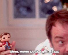 Crowley opening Christmas presents ~ ROFL this was gold! Sheppard on Supernatural SPN Supernatural Christmas, Supernatural Tv Show, Supernatural Seasons, Snow Day Gif, Sam Dean, Winchester Boys, Crowley, Destiel, Best Tv Shows