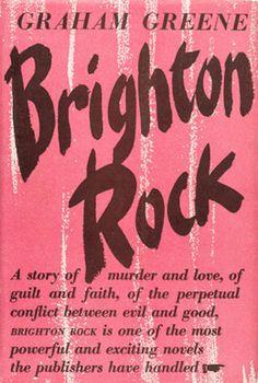 A Novel. Octavo x - Available at 2019 September 5 Rare Books. Brighton Rock, Richard Attenborough, Graham Greene, Novels, Auction, Faith, Ideas, Film Noir, Thoughts