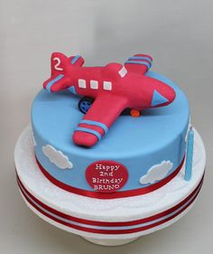 Avion Cake by Violeta Glace