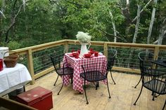 Picnic on the Deck - Cedar Hill Farmhouse