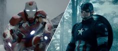 Captain America: Civil War 2016 main movie character names list actors