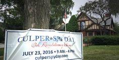 Next Saturday, 7/23 - Culper Spy Day throughout Three Village! More info here: http://www.emmaclark.org/culperspyday/