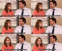 Jim and Pam. A romance made in television heaven