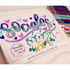 Hand Lettering Fonts, Lettering Tutorial, Typography, Bullet Journal Notes, Beautiful Handwriting, School Notes, Gel Pens, Art School, Free Food