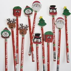 Christmas Pencils by Century Novelty. $6.95