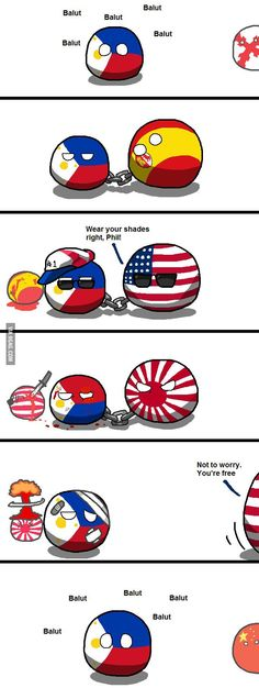 Philippines in a nutshell. The Philippines in a nutshell.The Philippines in a nutshell. Poland Country, Country Art, Hetalia Philippines, Manila Philippines, Satw Comic, Filipino Memes, Humans Meme, Comic Boards, 9 Gag