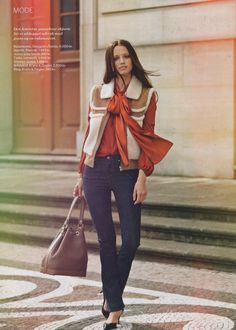 Press - Leowulff Chic, Style, Fashion, Shabby Chic, Swag, Moda, Elegant, Fashion Styles, Fashion Illustrations