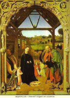 Petrus Christus. The Nativity.