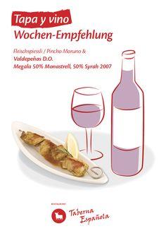 Pincho Moruno Tapas, Restaurant, Food, Olivier Salad, Mediterranean Kitchen, Eten, Restaurants, Meals, Dining Room