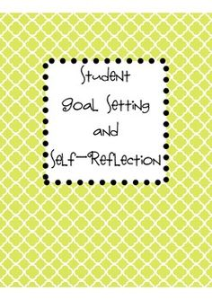 In this folder, you get everything you need to help high school students make productive goals that they are accountable for, as well as self-reflection activities. This includes student SMART Goal worksheet, student SMART Goal Check-Up worksheet, student Self-Reflection worksheet (to be used after assessments to reflect on concepts mastered or not mastered)
